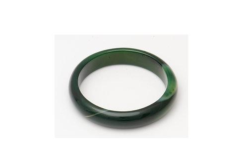 Green Agate Bangle