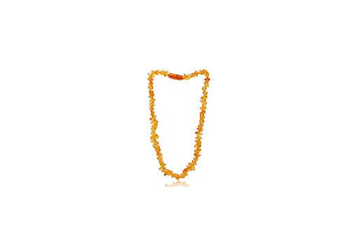 Natural Amber Irregular Necklace