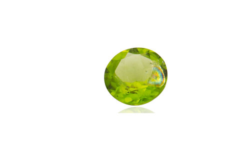 Peridot Faceted Loose Stone