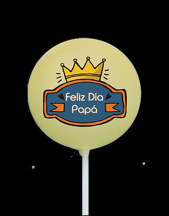 Piruleta Corona Papá