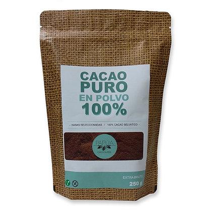 Cacao Puro en polvo 100% (250gr)