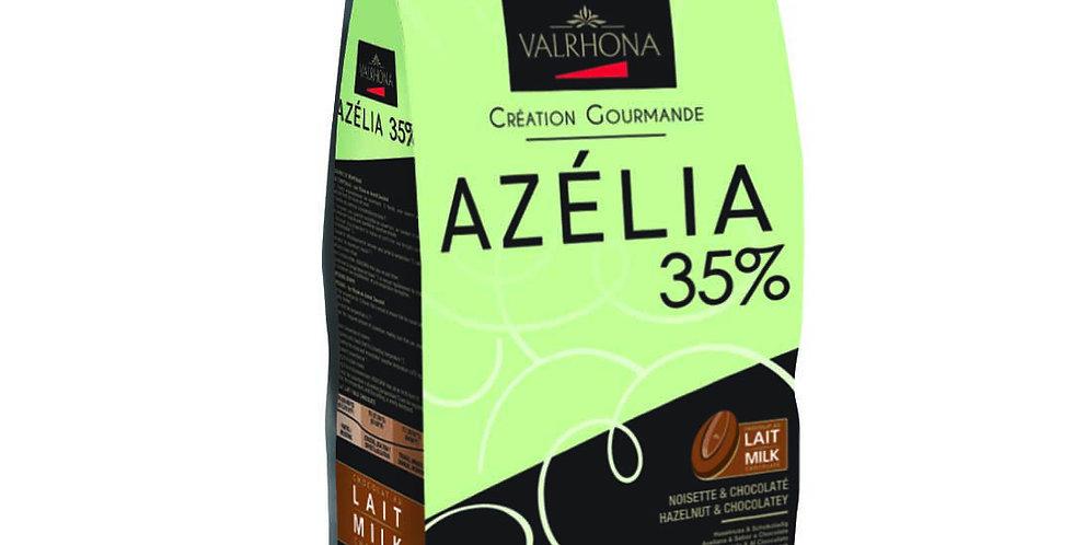 Azélia 35% - Chocolate de avellana con leche