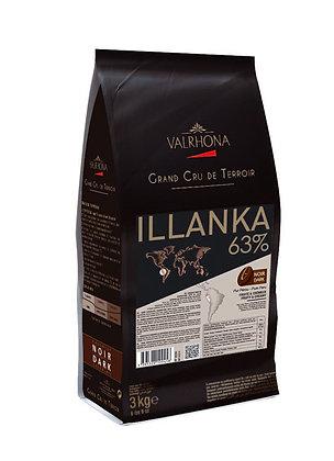 Illanka 63% - Chocolate Negro de origen único Perú