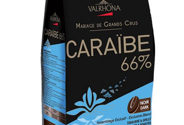 Caraibe 66% - Chocolate Negro