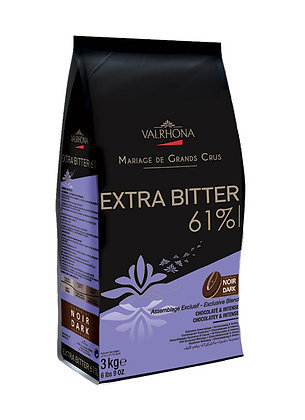 Extra Bitter 61% - Chocolate Negro