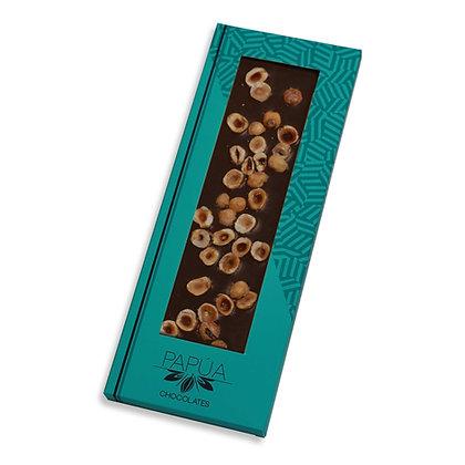 Chocolate Negro 70% con Avellanas caramelizadas