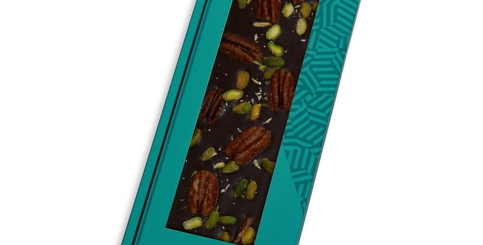 Chocolate Negro 70% con Nuez Pecana