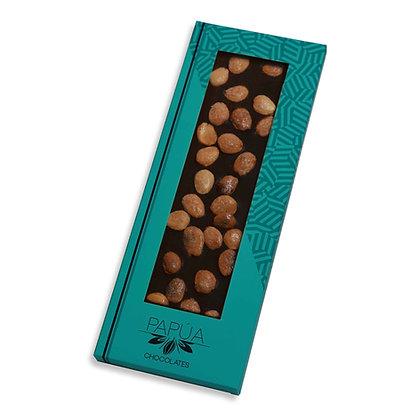 Chocolate Negro 70% con Almendras caramelizadas