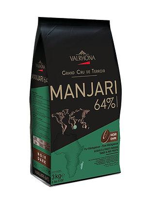 Manjari 64% - Chocolate Negro de origen único Madagascar