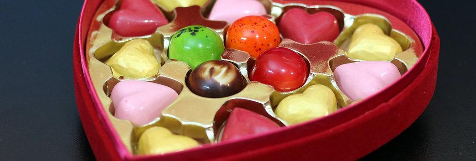 Caja Terciopelo 15 bombones