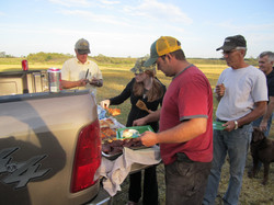 Meals in the field
