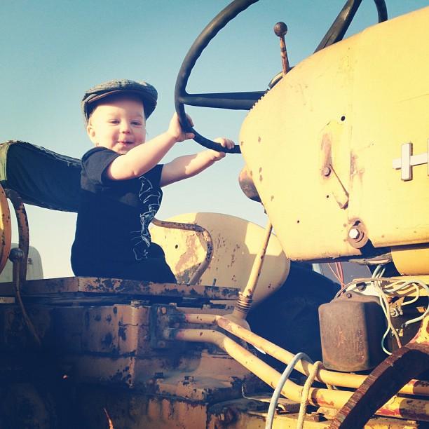 Wee farmer