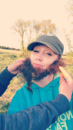 Who wouldn't want a bison beard?