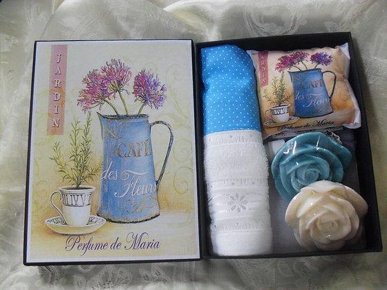 Caixa papel Paraná c/ produtos cx 16