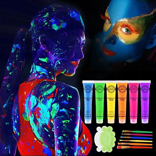 Colorful Makeup Face Paint
