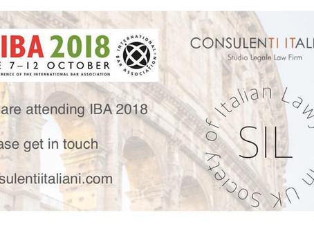 IBA 2018 Roma