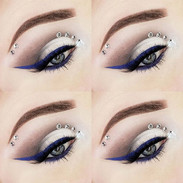 Day 10 💙__#makeupinspo#makeupoftheday