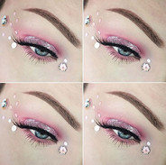 Day 11 - Soft pink eye look - I dont kno