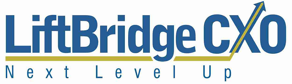 LiftBridge CXO Next Level Up logo