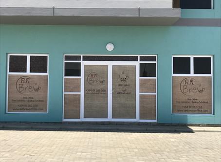 AM Brew Coffee World shopfront
