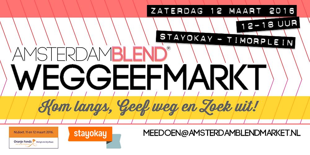 Amsterdam BLEND Weggeefmarkt 2016