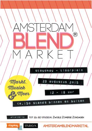 Amsterdam BLEND Market 23-8
