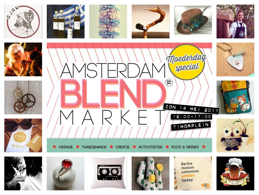 Amsterdam BLEND Market Moederdag Special
