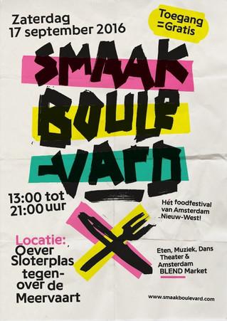 2e editie Smaakboulevard met Amsterdam BLEND Market