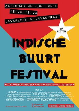 10e editie Indische Buurt Festival: doe mee!