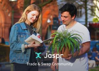 Áltijd álles ruilen via Jaspr app