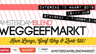 Amsterdam BLEND Weggeefmarkt 10 maart 2018
