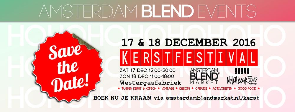 Amsterdam BLEND Market NeighbourFood Kerstfestival
