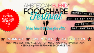 FoodShare Festival 2018 in Oost!