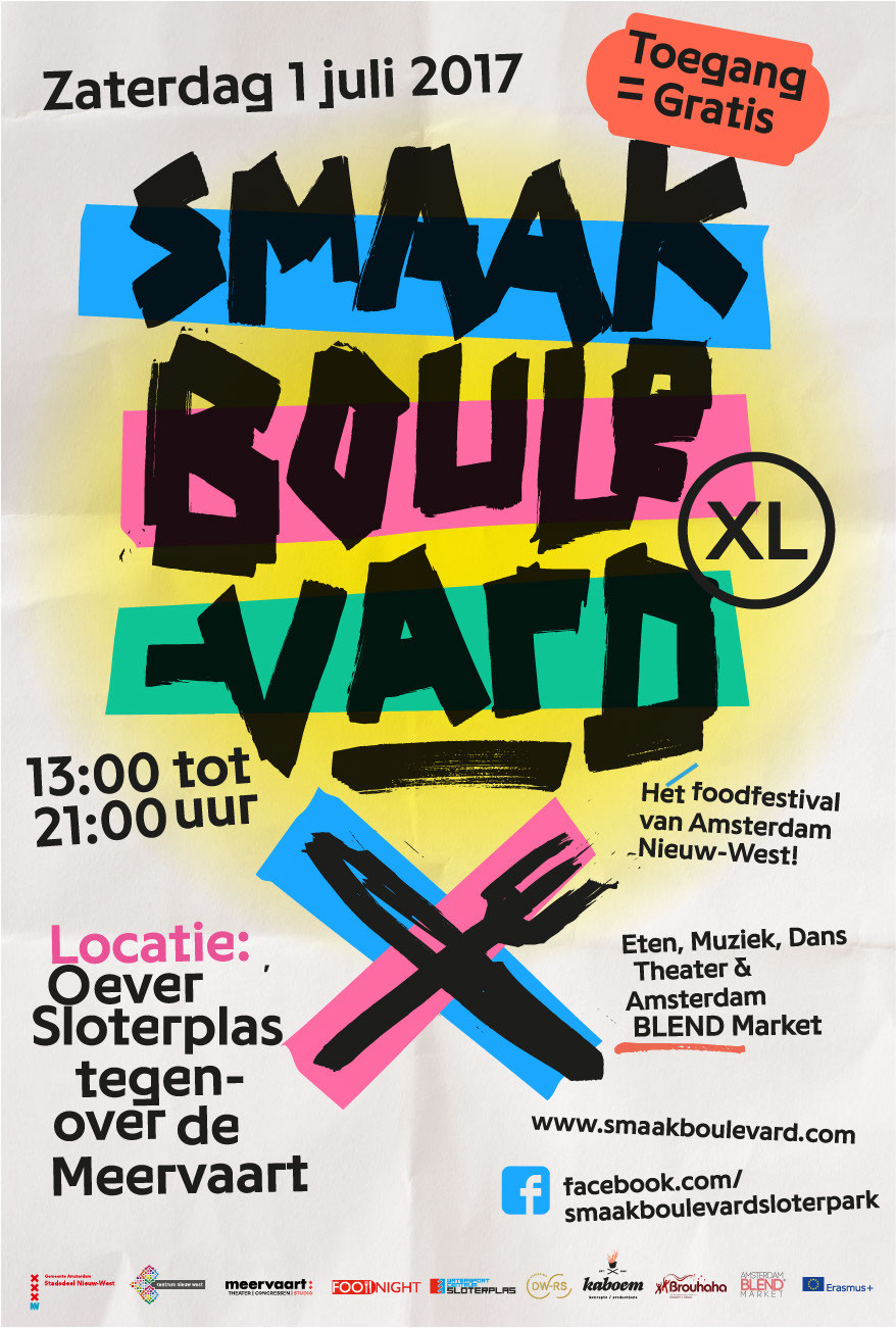 Amsterdam BLEND Market Smaakboulevard XL 2017
