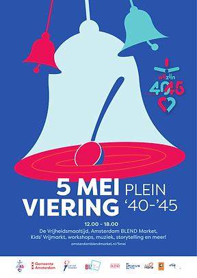 Digi Poster 5 Mei Viering Plein 40-45 20