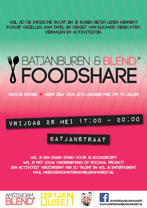 Amsterdam BLEND FoodShare Indische Buurt