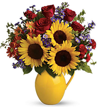 Sunny Day Pitcher of Joy $79.95