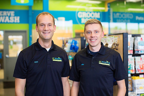 Pet Evolution Owners Rian Thiele and Mike Osborn