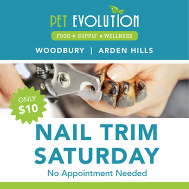Special Discounted Price Pet Nail Trim Event