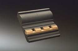 KM 1212 Moulded Edge Inst. 1/2 x 1/2