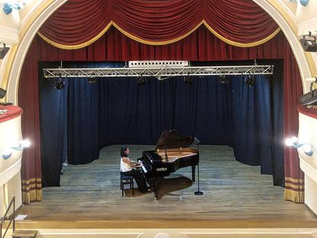 Piano Recital - Rossano Theatre, Italy