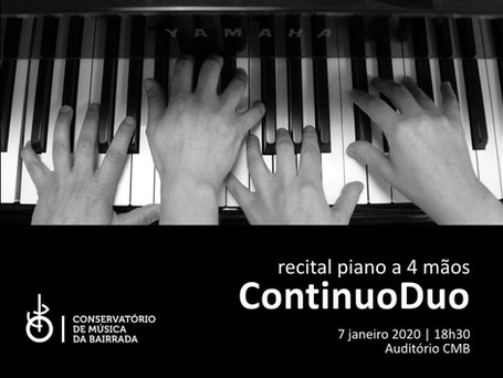 ContinuoDuo Concert - Bairrada, Portugal