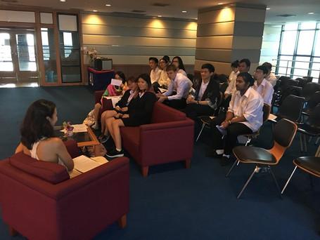 Interview - Assumption University, Thailand