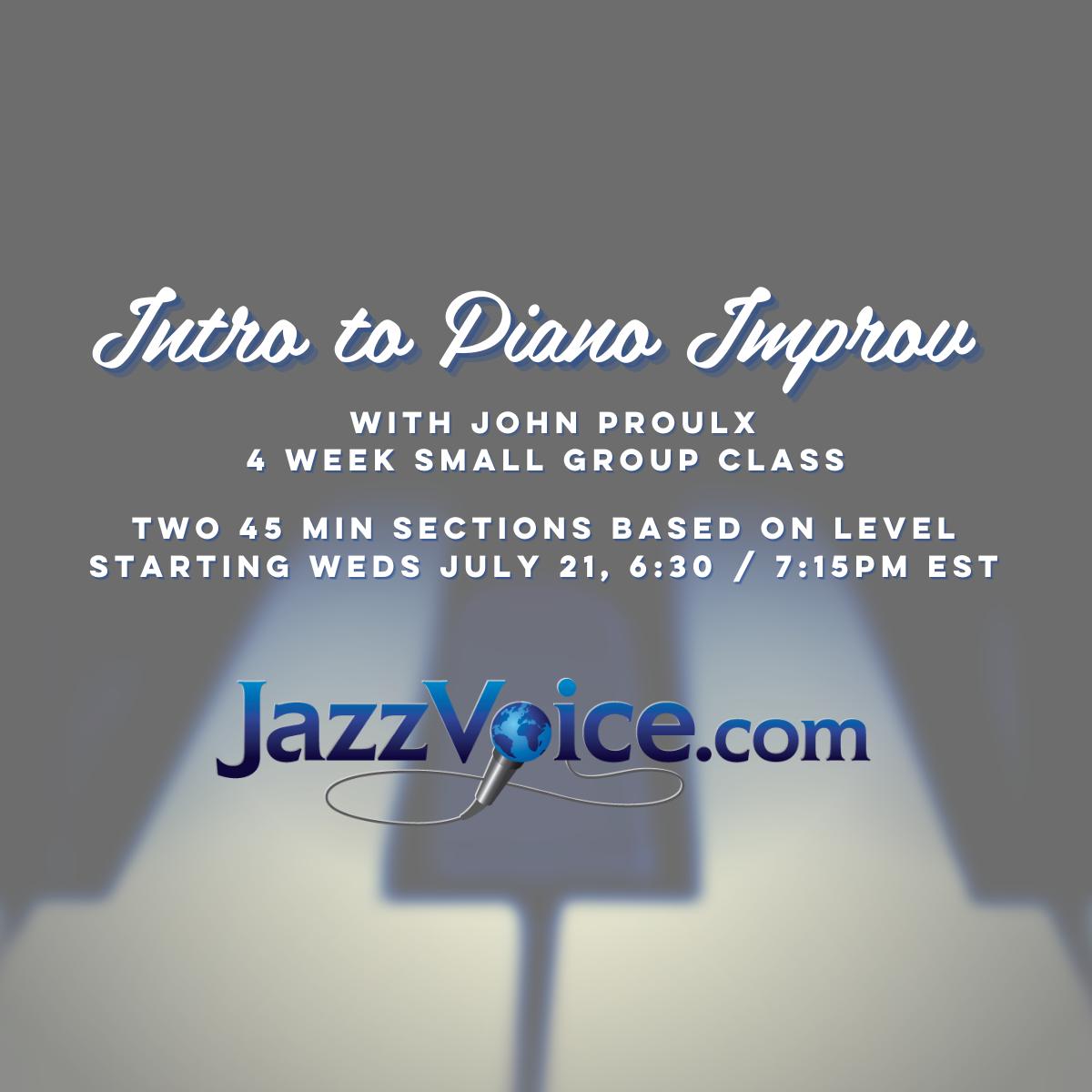 Intro to Piano Improv