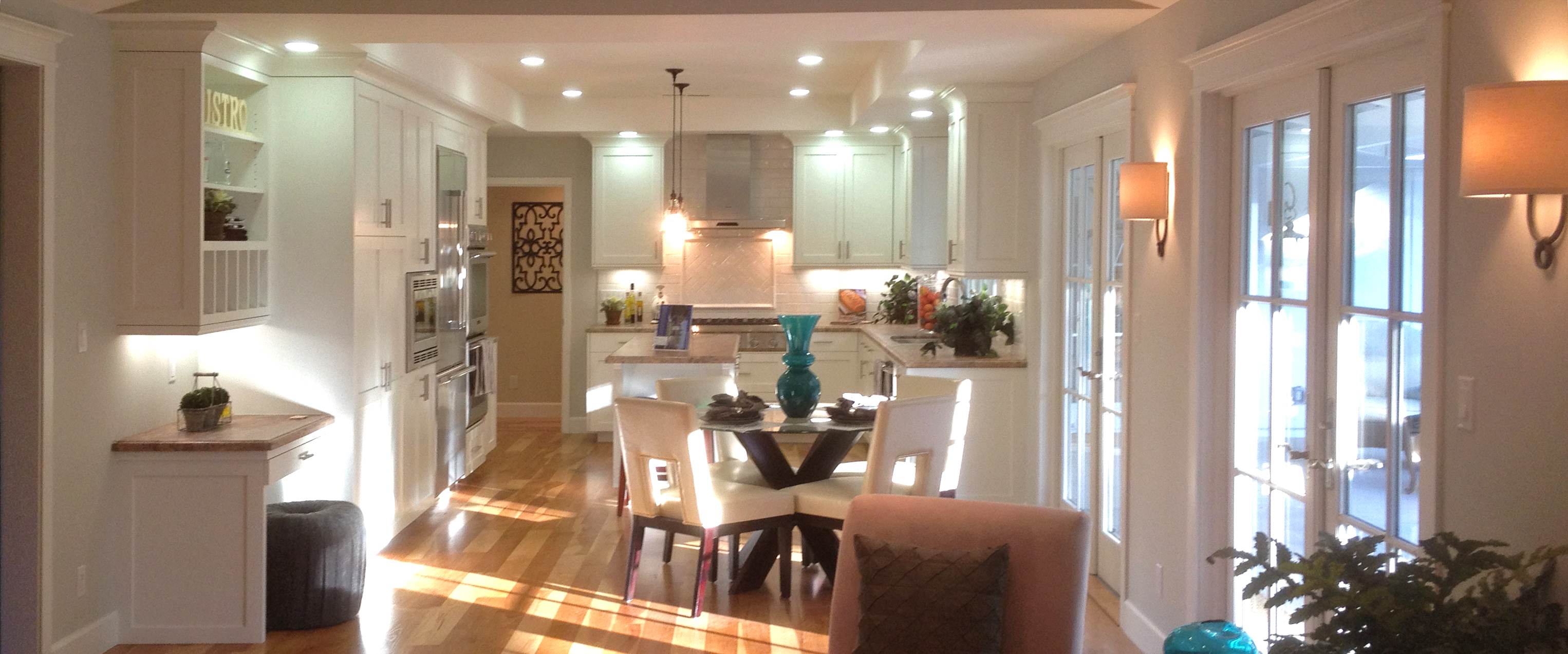 Custom Kitchen: Los Altos Hills