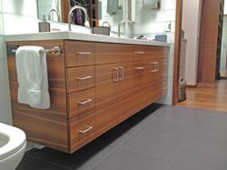 Walnut Bathroom Vanity: Woodside