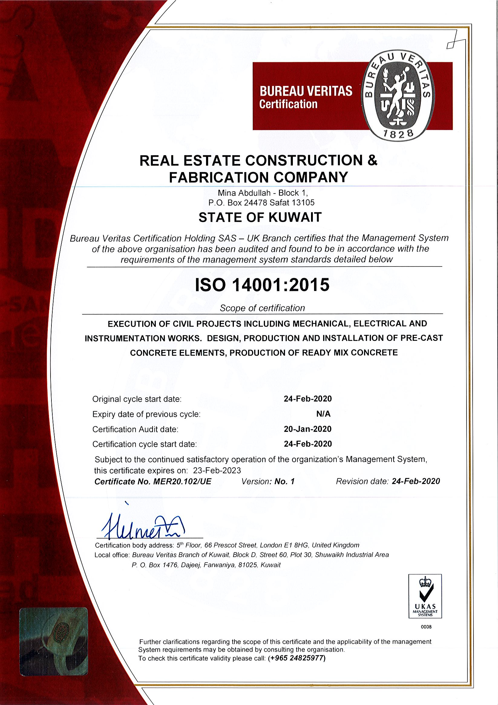 ISO:14001-2015