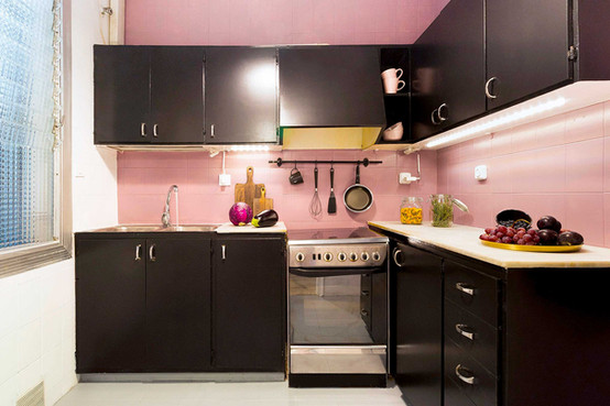 Sébastien Robert's spectacular change with pink and black paint
