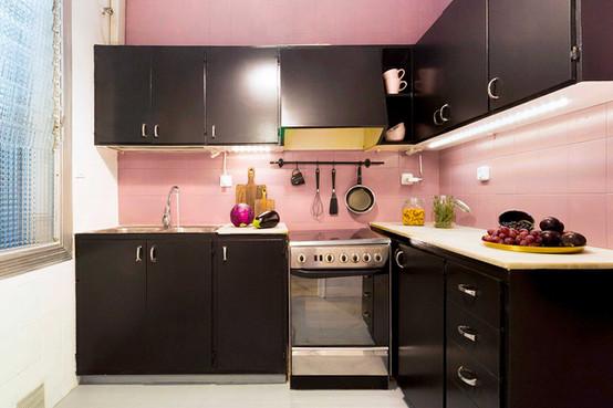 Magnifique changement de Sébastien Robert avec peinture rose et noir