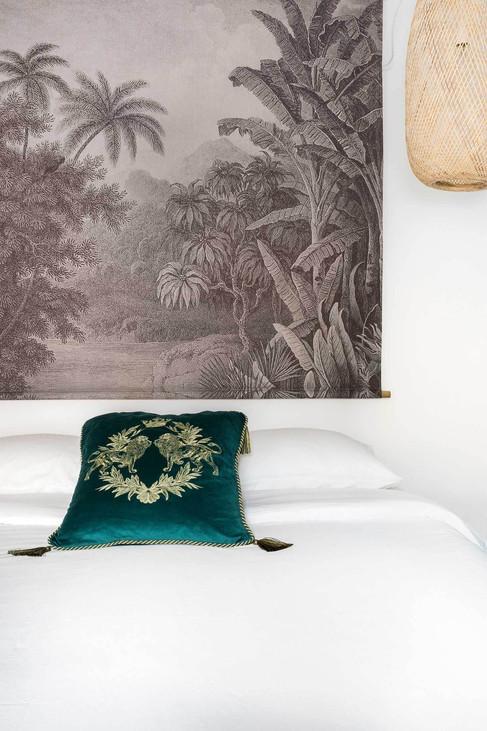 Mural jungle de Vilmupa pour vendre plus cher